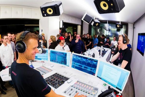 armin van buuren radio studio