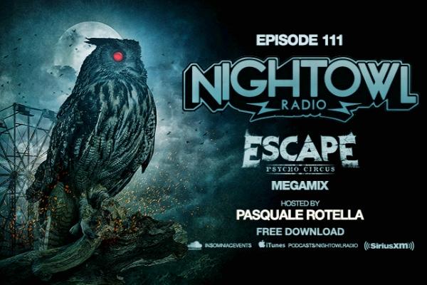 night owl radio episode 111 escape psycho circus 2017