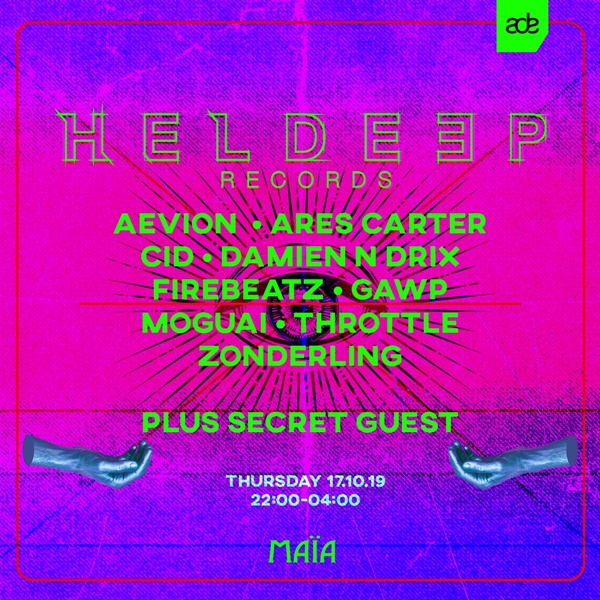 Heldeep Records Amsterdam Dance Event