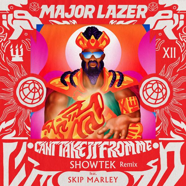 Major Lazer 'Can't Take It From Me' (Showtek Remix)