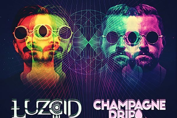 LUZCID & Champagne Drip - Double Vision
