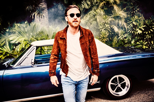 david guetta photo by Ellen Von Unwerth