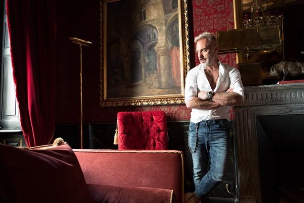 Gianluca Vacchi Photo by Dennison Bertram
