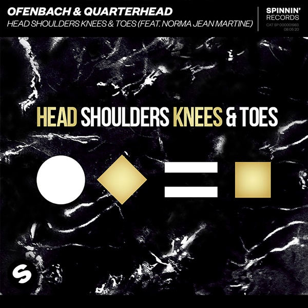 Ofenbach Quarterhead Norma Jean Martine Head Shoulders Knees & Toes