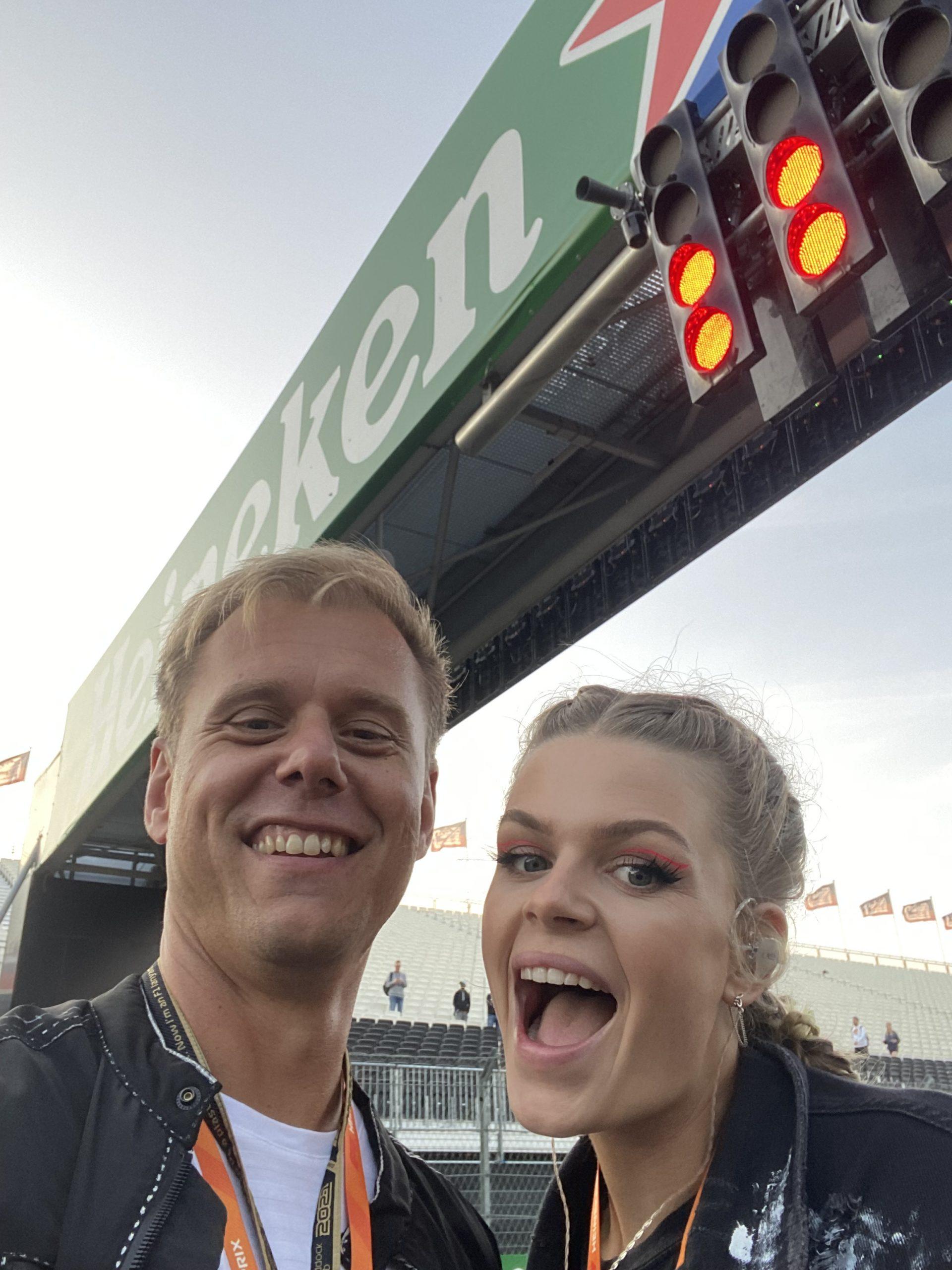 Armin van Buuren and Davina Michelle Hold On