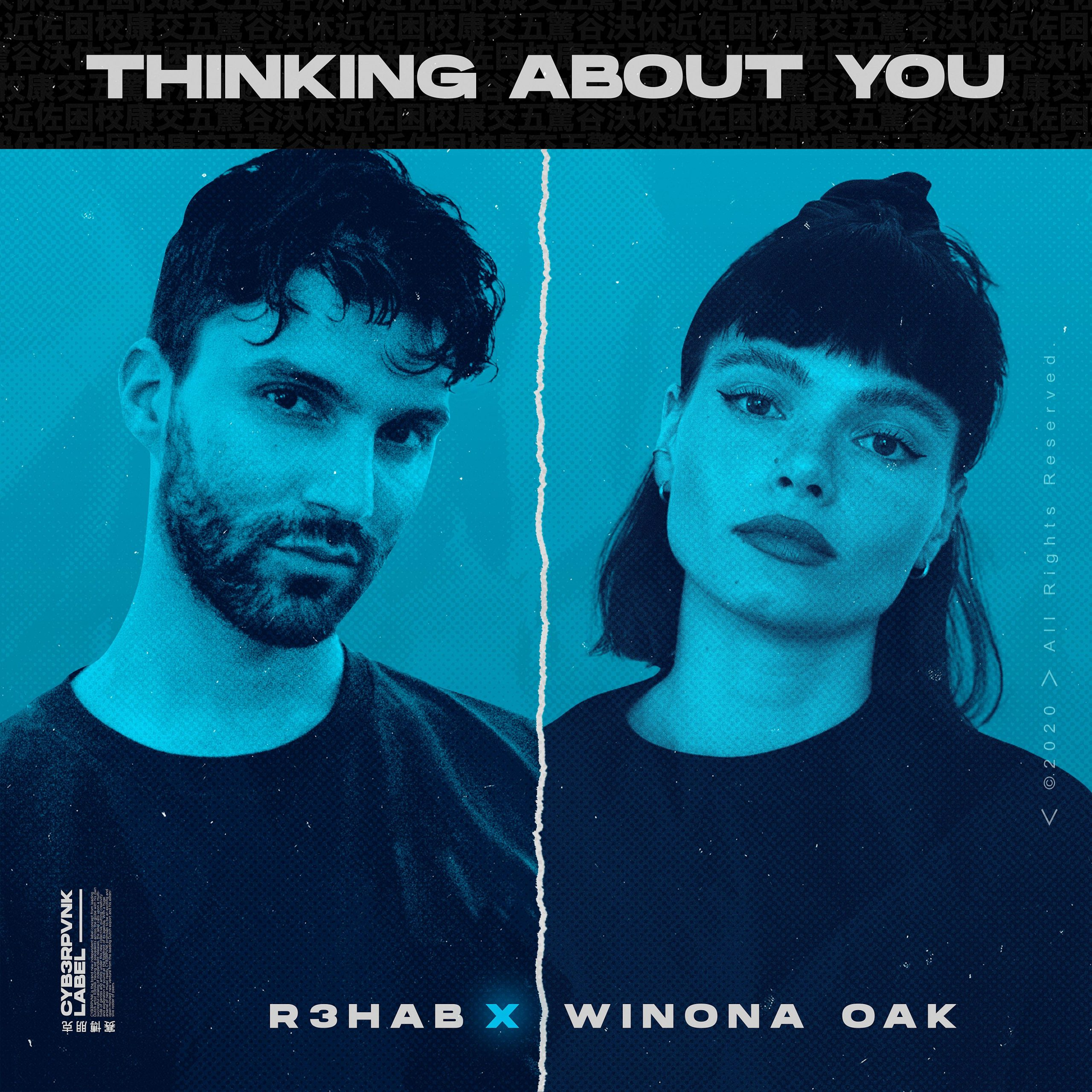 [Cover] R3HAB & Winona Oak - Thinking About You