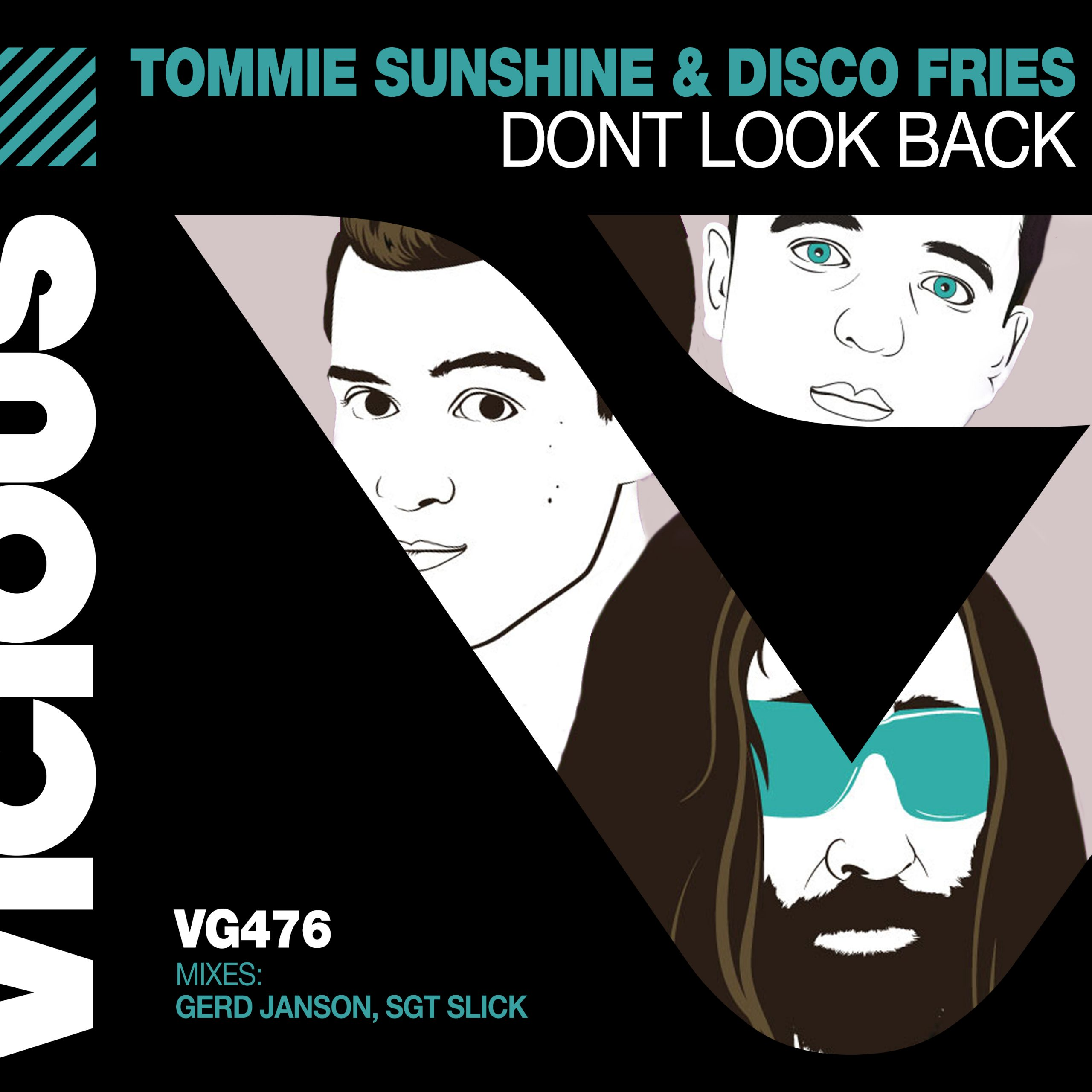 Don't Look Back – Artwork
