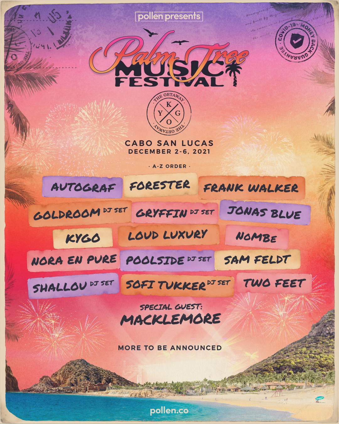 Palm Tree Music Festival Pollen Presents
