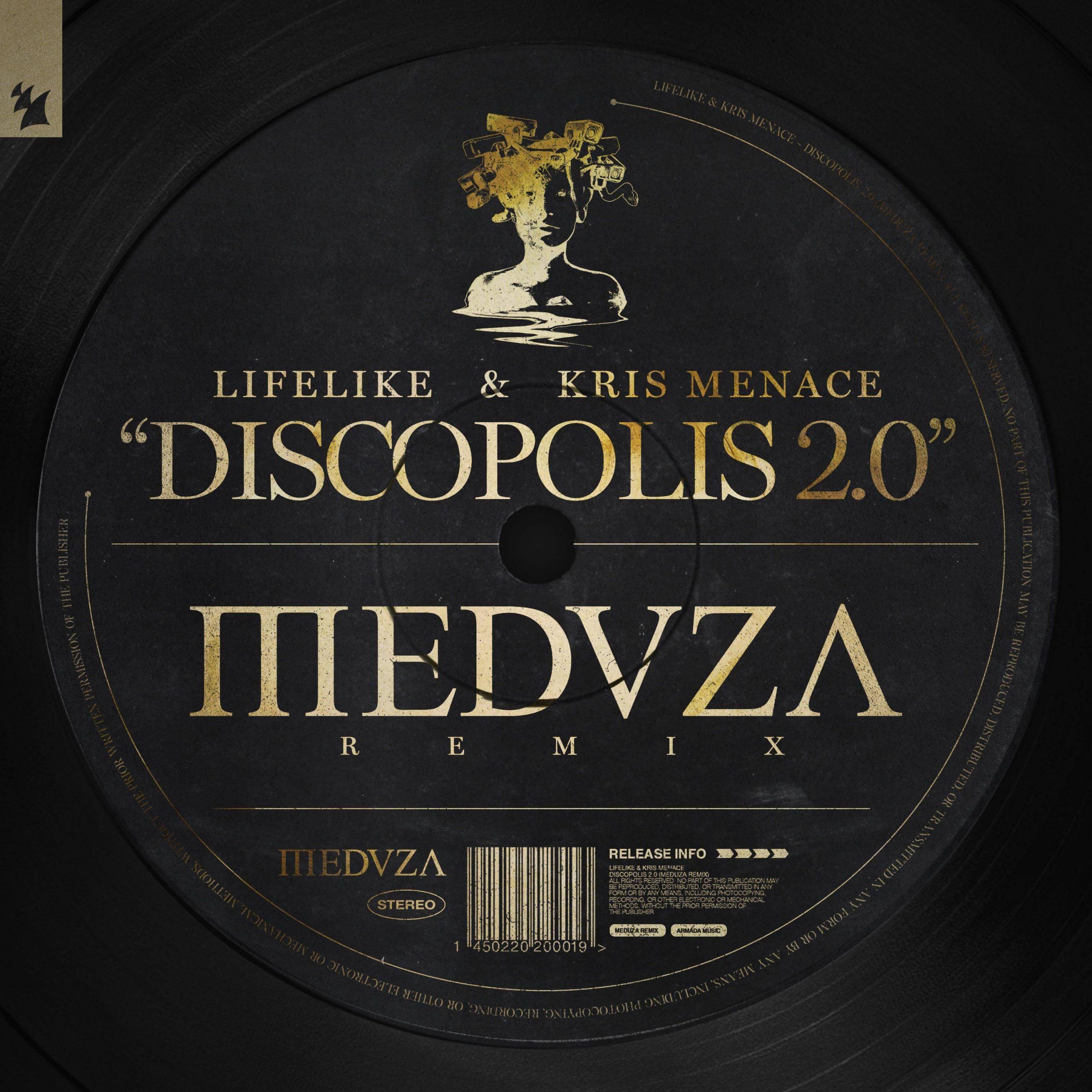 MEDUZA Lifelike & Kris Menace 'Discopolis 2.0'