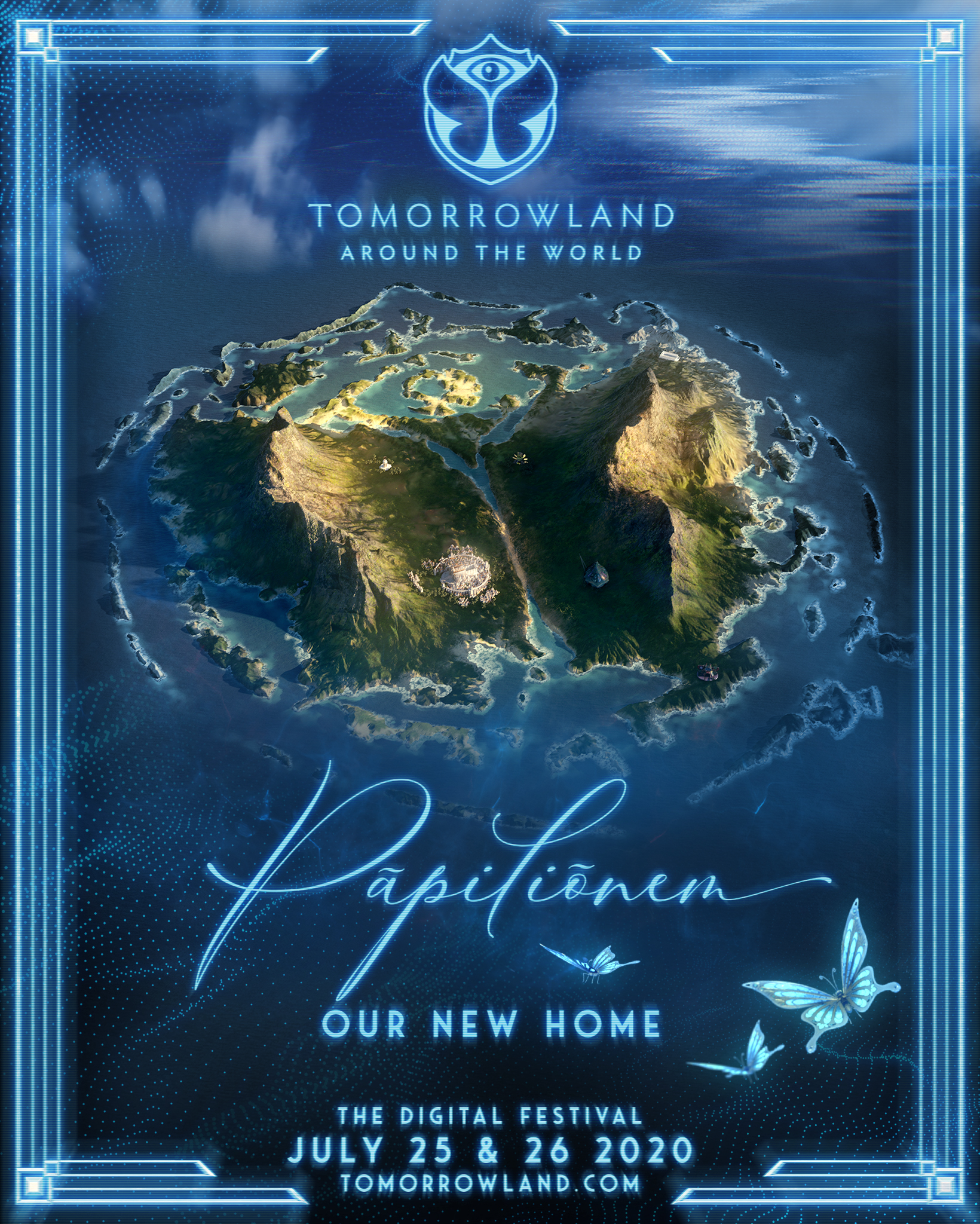 Tomorrowland Unveils Its New Home Pāpiliōnem