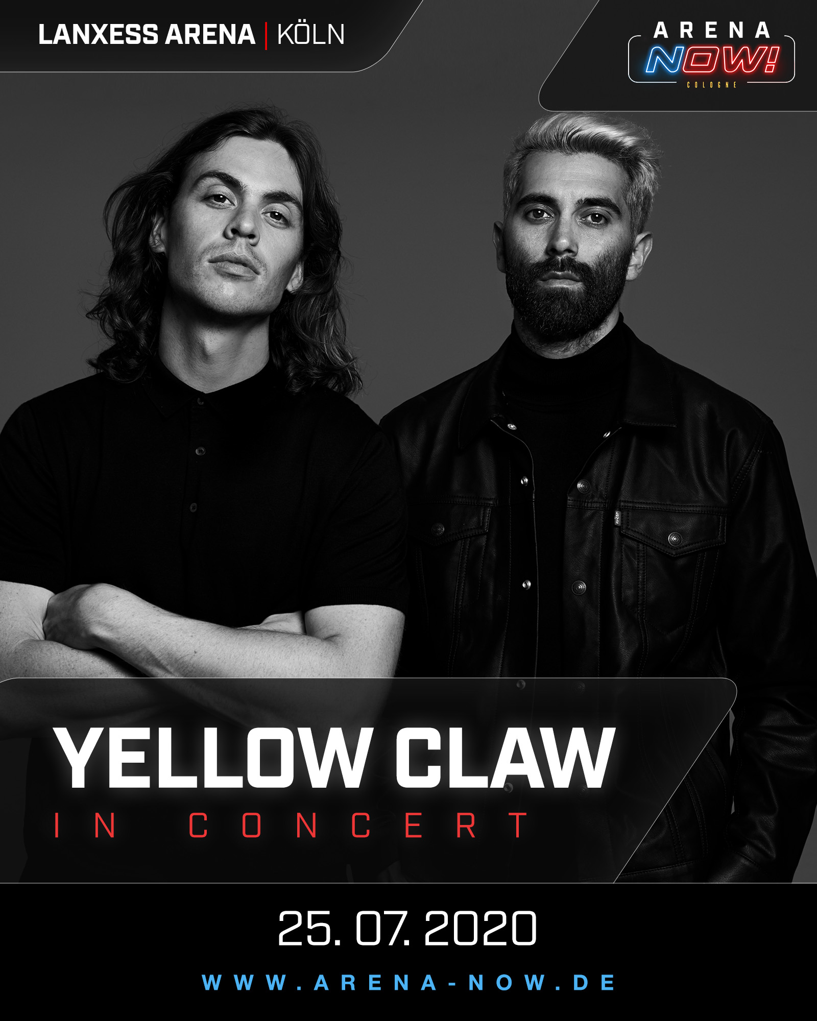Yellow Claw Arena Now